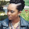 Black up do hairstyles