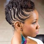 Braided mohawk hairstyles for girls