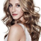 Curly hairstyle photos