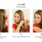 Easy hairstyles for short hair for school