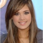 Haircuts for long hair with layers and side bangs