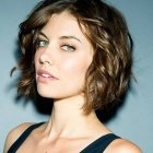 Hairstyle short curly