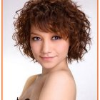 Hairstyles for short hair curly