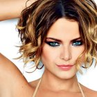 Images of short hairstyles for curly hair