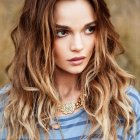 Long curly hairstyles 2015