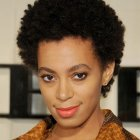 Natural hairstyles for black women with short hair