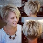 New short hairstyle 2015