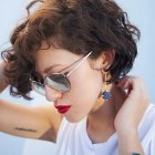 Short curly hair pictures