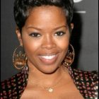 Short curly haircuts for black women