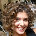 Short curly perm hairstyles
