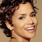 Short curly wavy hairstyles for women