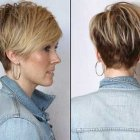 Short hair styles back view