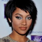 Short hair styles for women of color