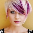 Short hairstyles and color