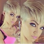 Short hairstyles for ladies 2015