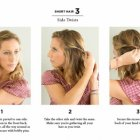Simple hairstyles for short hairs