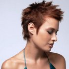 Spiky hairstyles for women