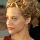 Up hairstyles for short hair