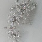 Wedding hair clips and combs