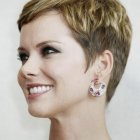 Women with pixie haircuts