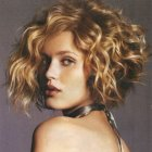 Curly bobs hairstyles