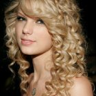 Curly down hairstyles for prom