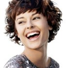 Curly hairstyles for short hair for women