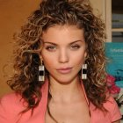 Curly natural hair styles