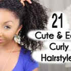 Cute natural curly hairstyles