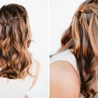 Easy down hairstyles for long hair