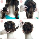 Easy step by step prom hairstyles