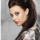 Edgy hairstyles for long hair