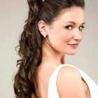 Engagement hairstyles for long hair