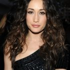 Extremely curly hairstyles