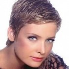 Extremely short hairstyles for women