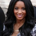 Hairstyle for black hair