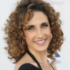 Hairstyles for women with curly hair