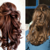 Half up hairstyles for prom