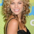 Long curly hairstyles women