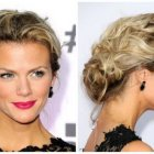 Messy prom hairstyles