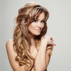 Model hairstyles for long hair