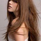 Modern hairstyles long hair