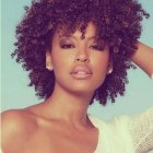 Naturally curly black hairstyles