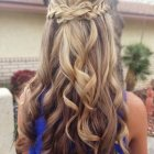 Prom down hairstyles for long hair