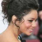 Shoulder length prom hairstyles
