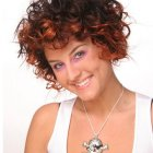 Trendy curly hairstyles