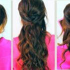 Half up prom hairstyles