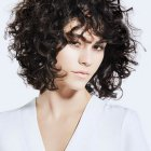 Short curly hairstyles 2020