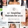 Updated hairstyles for 2020