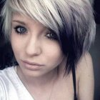 Emo short hairstyles for girls